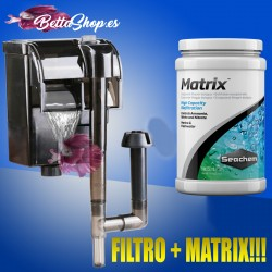 FILTRO BIOLOGICO FILTRO + MATRIX