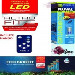 PANTALLA DE LUZ LED FLUVAL ECO BRIGHT 38-61CM