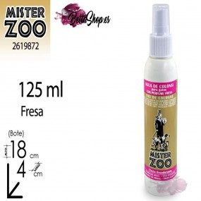 AGUA COLONIA PARA GATOS PERFUME FRESA 125ML